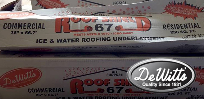 Roofing Products - DeWitts1