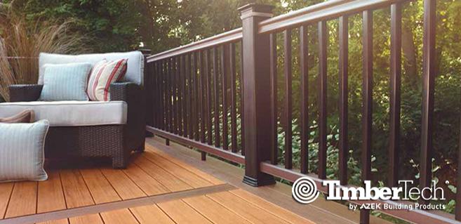 Deck & Rails - Timbertech2