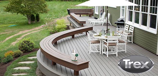 Deck & Rails - Trex2