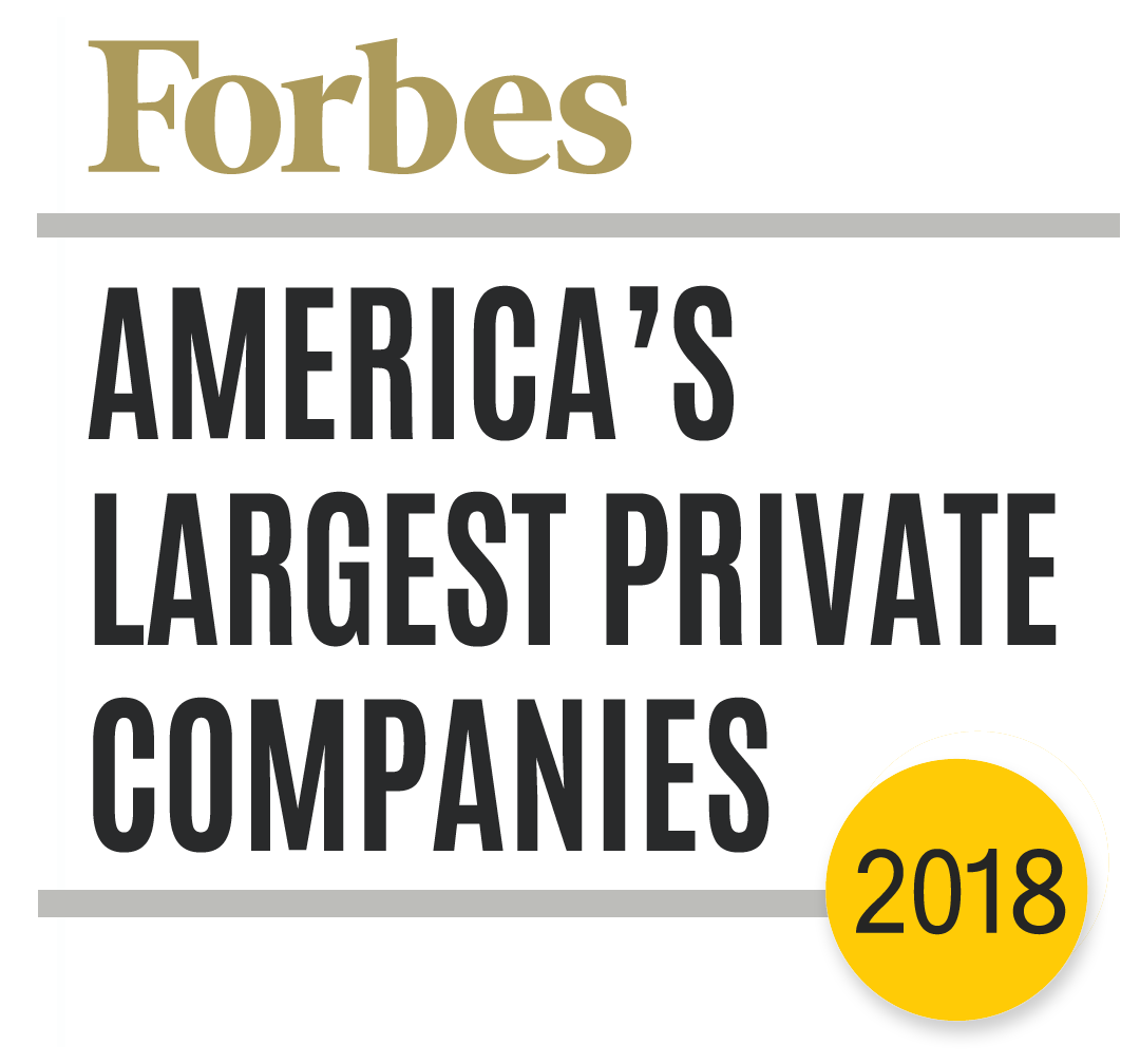 2018 Forbes Larget Private Companies