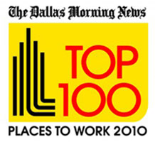 Dallas Morning News' TOP 100 Places to Work 2010