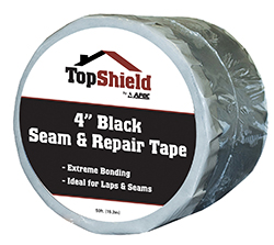 "4"" Seam & Repair Tape - Black"