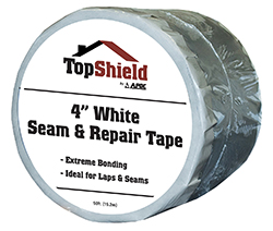 "4"" White Seam Repair Tape"