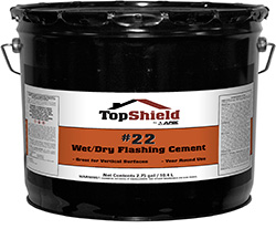 #22 Wet/Dry Flashing Cement