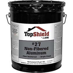 #27 Non-Fibered Aluminum Coating