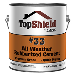#33 All Weather Rubberized Cement