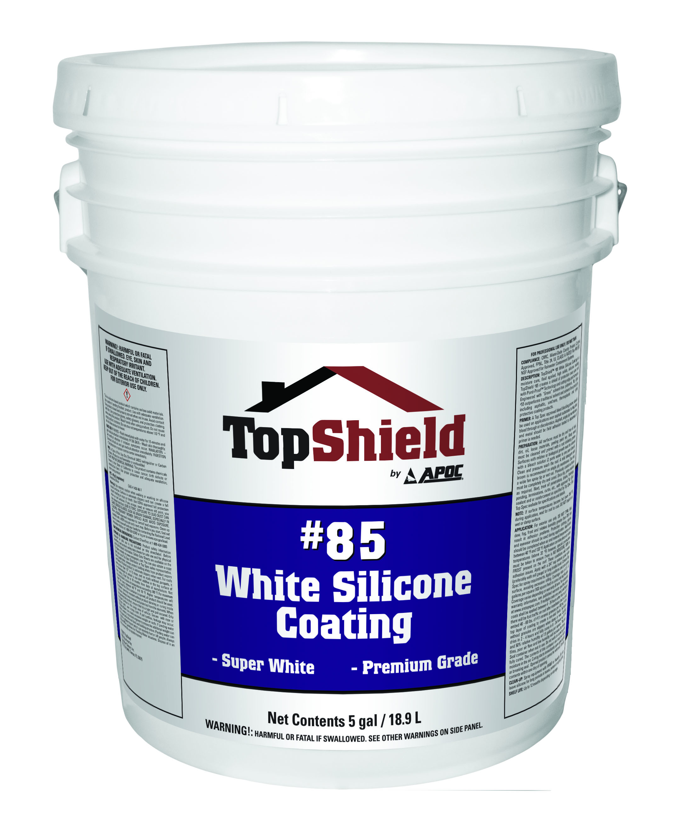 #85 White Silicone Coating