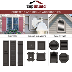 Shutters & Siding Accessories